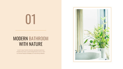 Best Bathroom Interior Google Slides Template Design_06