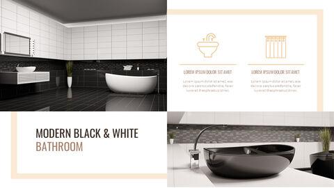 Best Bathroom Interior Google Slides Template Design_21