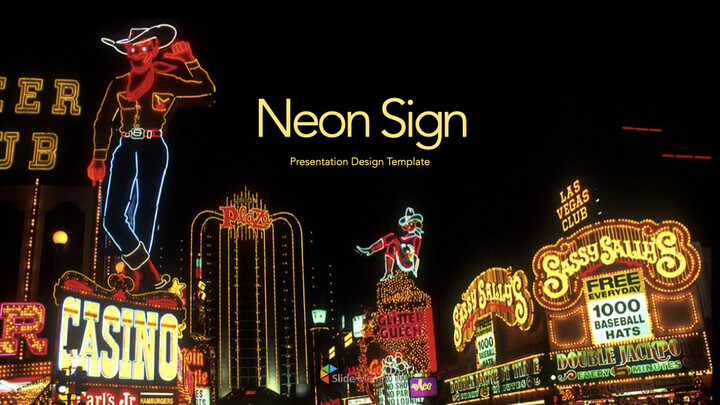 Neon Sign Keynote for PC_01