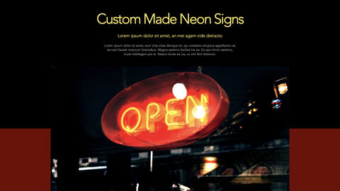 Neon Sign Keynote for PC_08
