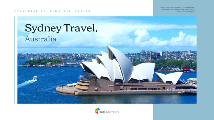 Sydney Travel, Australia Action plan PPT_01