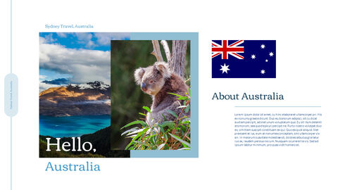 Sydney Travel, Australia Action plan PPT_02