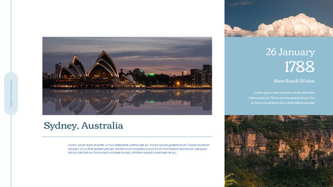 Sydney Travel, Australia Action plan PPT_03