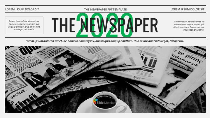 Newspaper Easy Google Slides Template_01