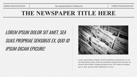 Newspaper Easy Google Slides Template_03