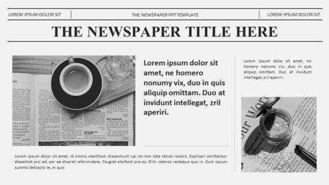 Newspaper Easy Google Slides Template_02