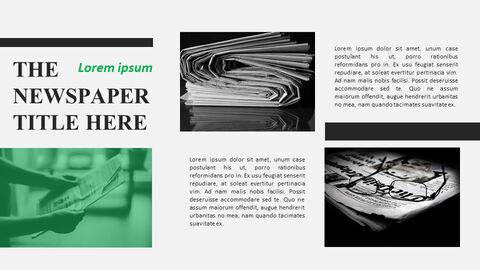Newspaper Easy Google Slides Template_07