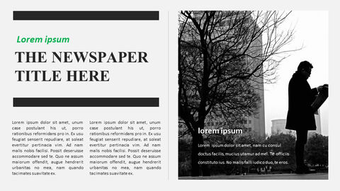 Newspaper Easy Google Slides Template_08