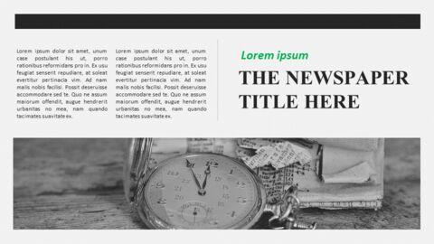 Newspaper Easy Google Slides Template_10