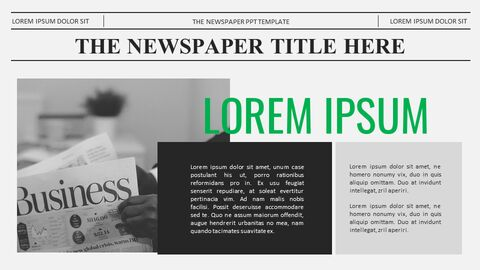 Newspaper Proposal Presentation Templates_03