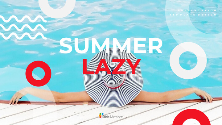 Summer Lazy Google Slides Template Diagrams Design_01