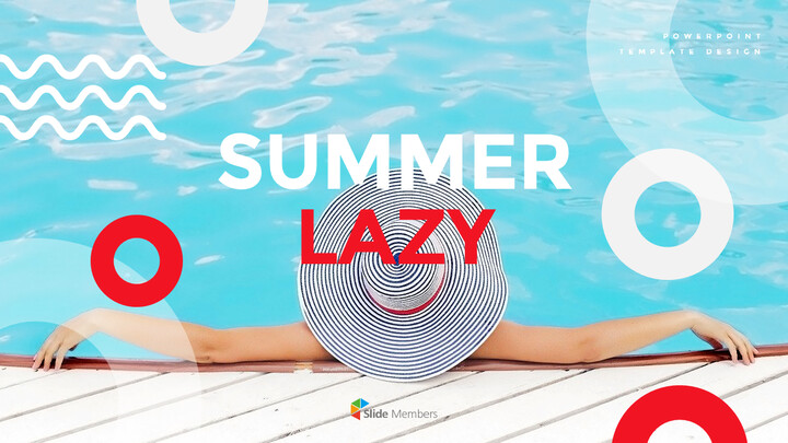 Summer Lazy PowerPoint Table of Contents_01