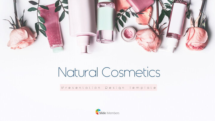 Natural Cosmetic Presentation PPT_01