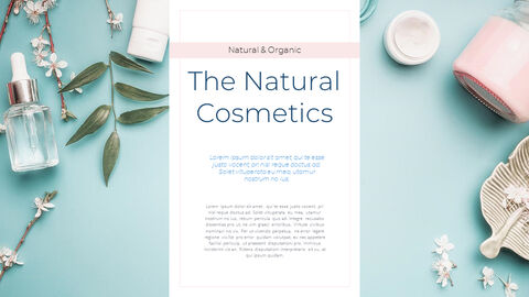 Natural Cosmetic Presentation PPT_20