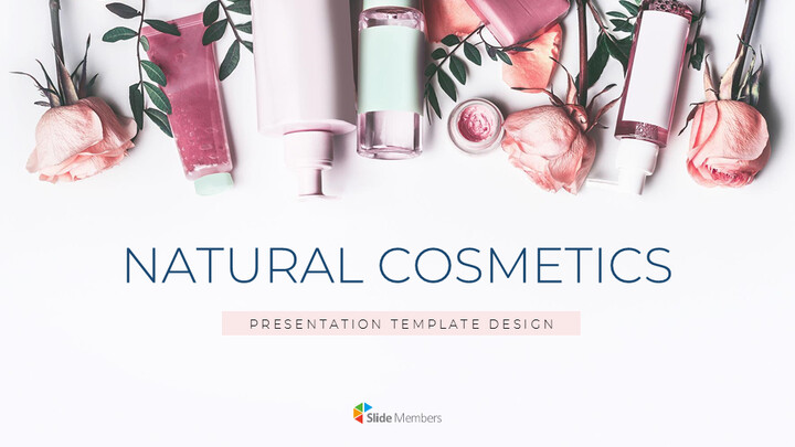 Natural Cosmetic Simple Google Presentation_01