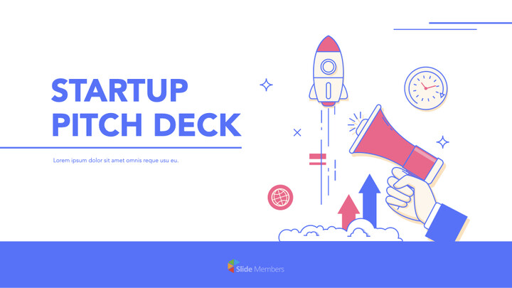 Startup Pitch Deck Flat Design Keynote Templates for Creatives_01