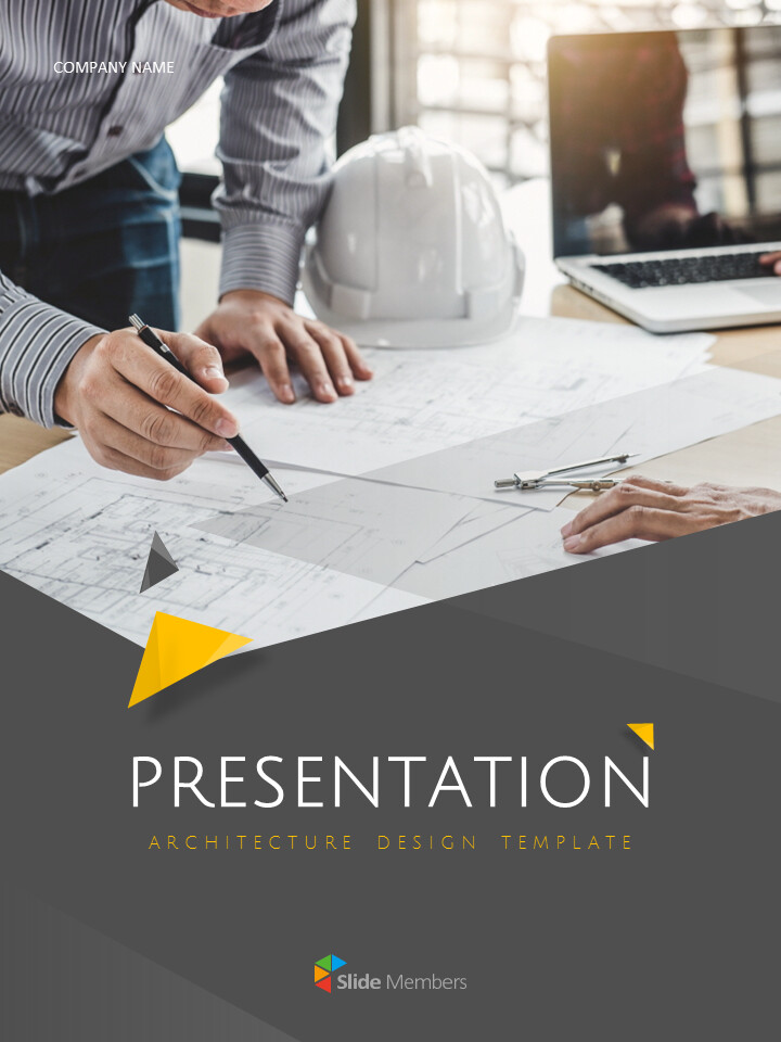 Architecture Vertical Design Google Slides Themes & Templates_01