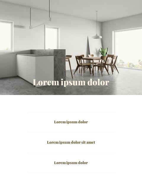 브랜드 컨셉 세로형 디자인 베스트 파워포인트 템플릿_16