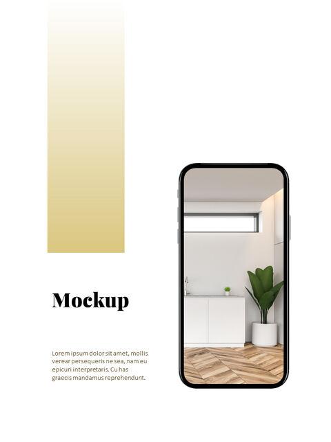 브랜드 컨셉 세로형 디자인 베스트 파워포인트 템플릿_28
