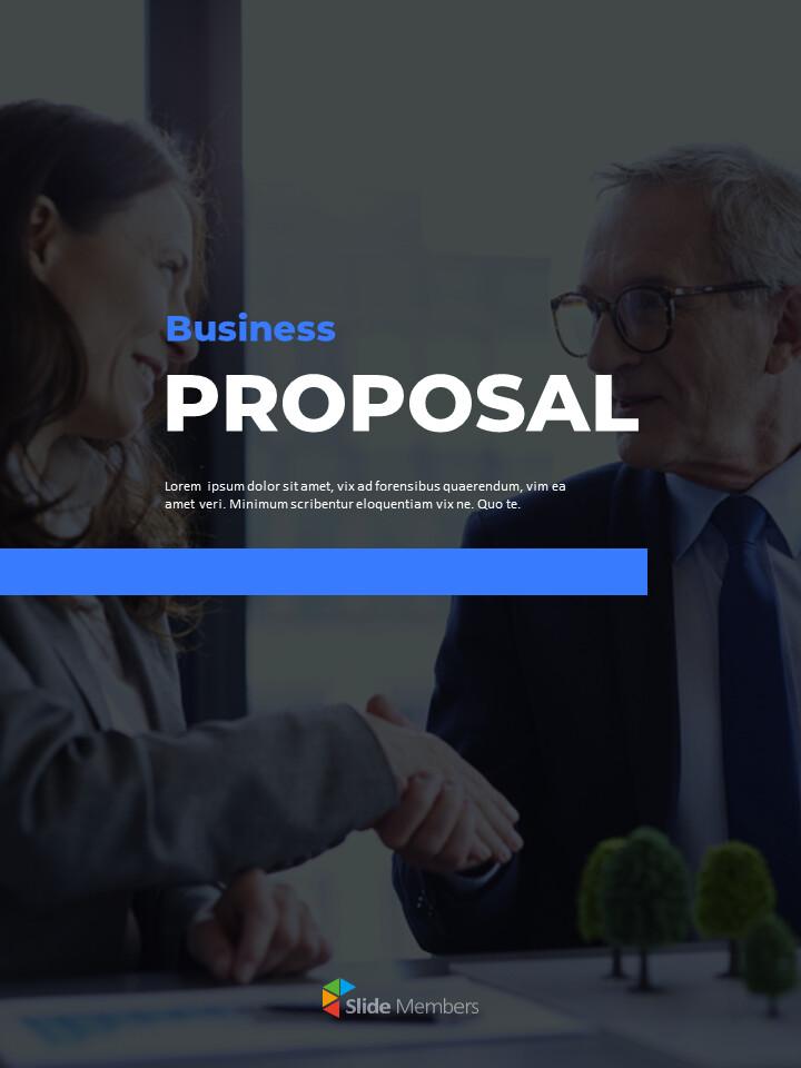 Business Proposal Vertical Modern PPT Templates_01