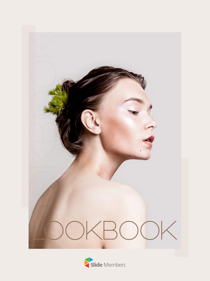 Look Book Design Best PPT Design_01