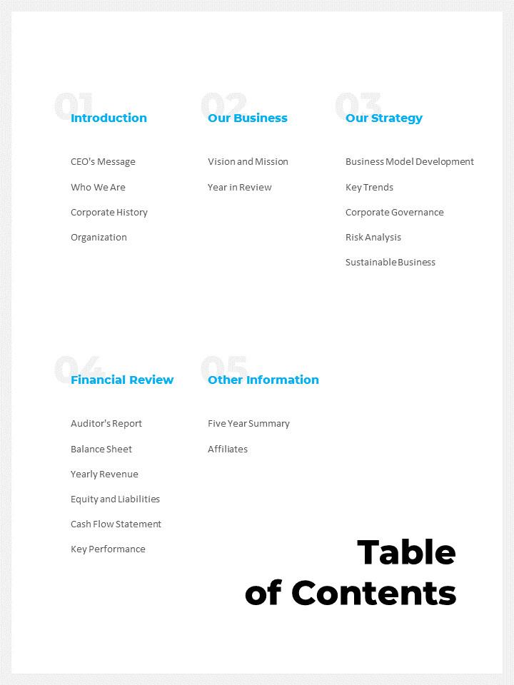 연간 보고서 맞춤형 구글 슬라이드_02