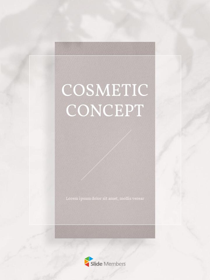 Cosmetic Brand <span class=\'highlight\'>Concept</span> Vertical Design Easy Google Slides_01