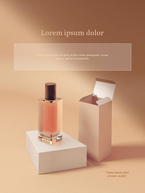 Cosmetic Brand <span class=\'highlight\'>Concept</span> Vertical Design Easy Google Slides_02