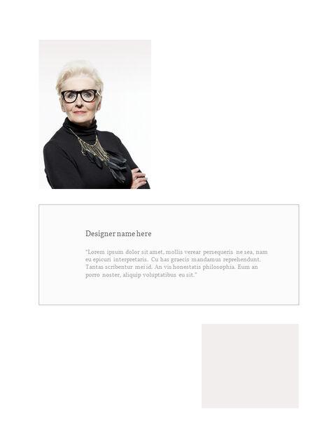 화장품 브랜드 컨셉 세로형 디자인 파워포인트 프레젠테이션 슬라이드_03