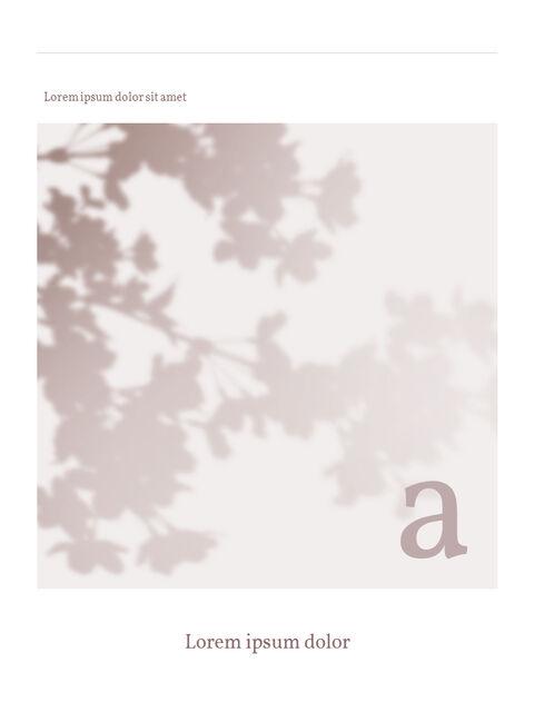 화장품 브랜드 컨셉 세로형 디자인 파워포인트 프레젠테이션 슬라이드_06