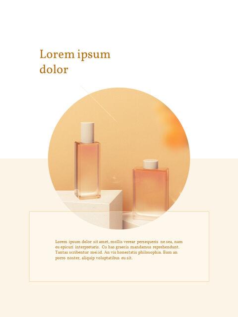 화장품 브랜드 컨셉 세로형 디자인 파워포인트 프레젠테이션 슬라이드_10