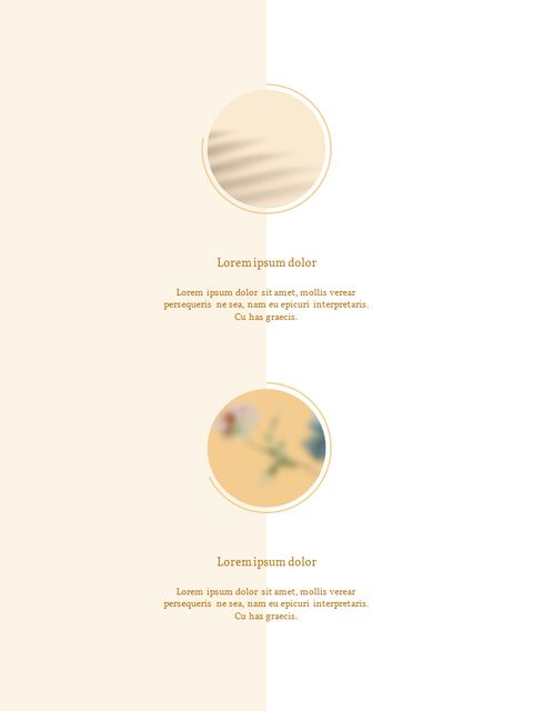 화장품 브랜드 컨셉 세로형 디자인 파워포인트 프레젠테이션 슬라이드_11