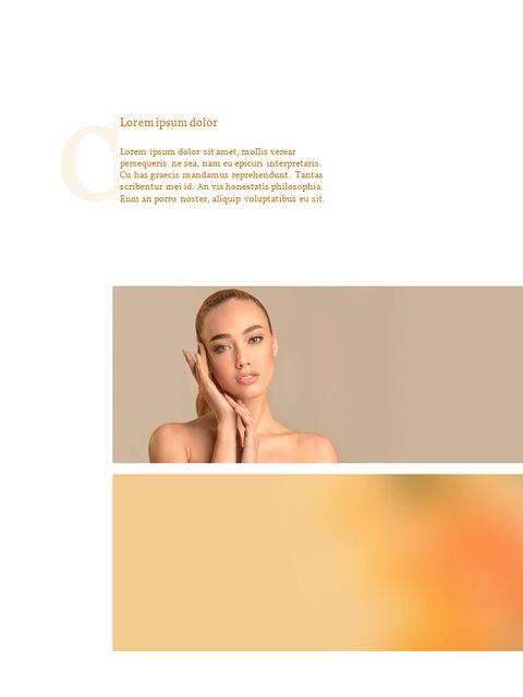 화장품 브랜드 컨셉 세로형 디자인 파워포인트 프레젠테이션 슬라이드_12