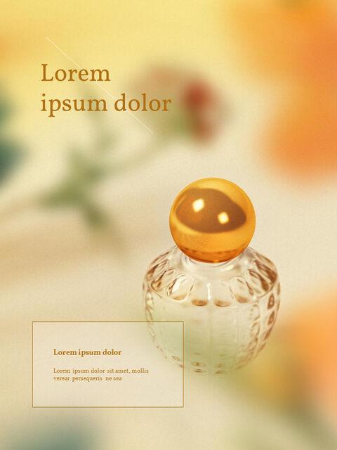 화장품 브랜드 컨셉 세로형 디자인 파워포인트 프레젠테이션 슬라이드_18