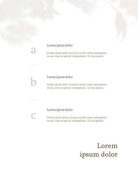 화장품 브랜드 컨셉 세로형 디자인 파워포인트 프레젠테이션 슬라이드_22