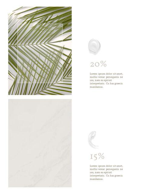 화장품 브랜드 컨셉 세로형 디자인 파워포인트 프레젠테이션 슬라이드_23