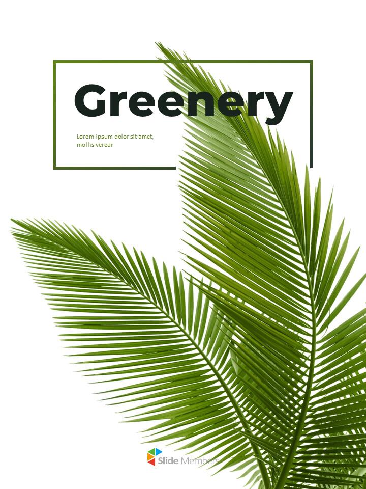 녹지 세로형 슬라이드 디자인 비즈니스 전략 파워포인트_01
