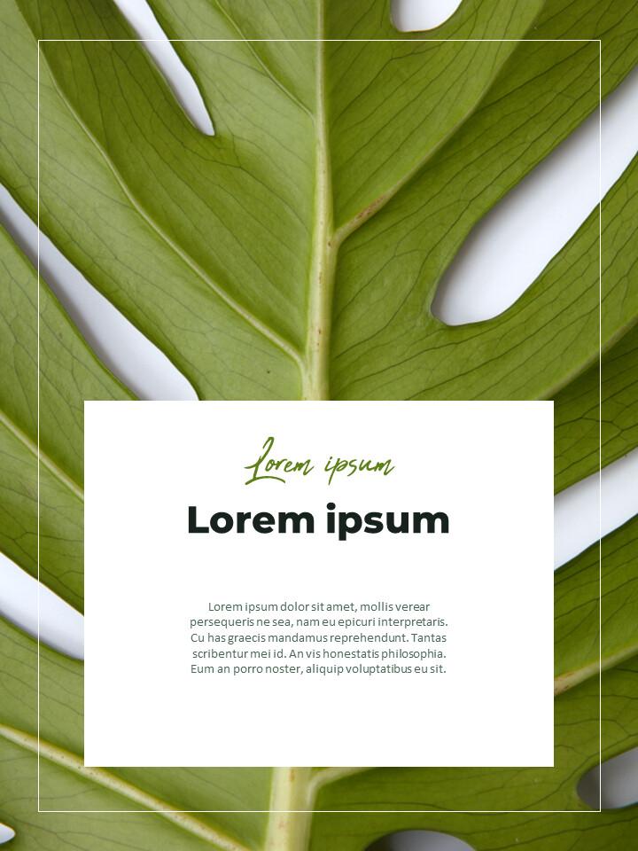 녹지 세로형 슬라이드 디자인 비즈니스 전략 파워포인트_02