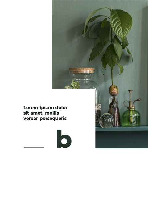 Greenery Vertical Slide Design Business Strategy PPT_03