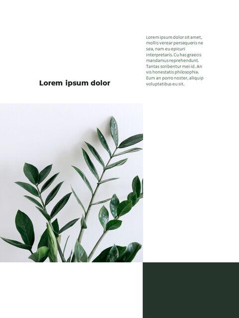 녹지 세로형 슬라이드 디자인 비즈니스 전략 파워포인트_11