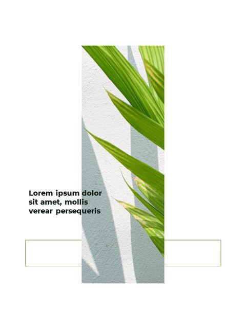 녹지 세로형 슬라이드 디자인 비즈니스 전략 파워포인트_16