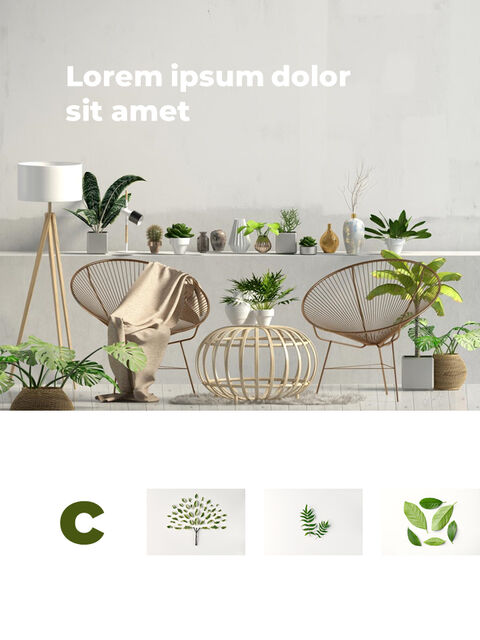 Greenery Vertical Slide Design Business Strategy PPT_04