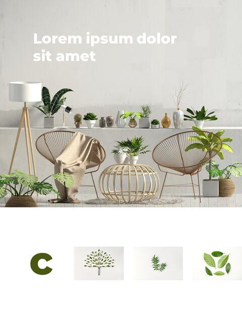 녹지 세로형 슬라이드 디자인 비즈니스 전략 파워포인트_19