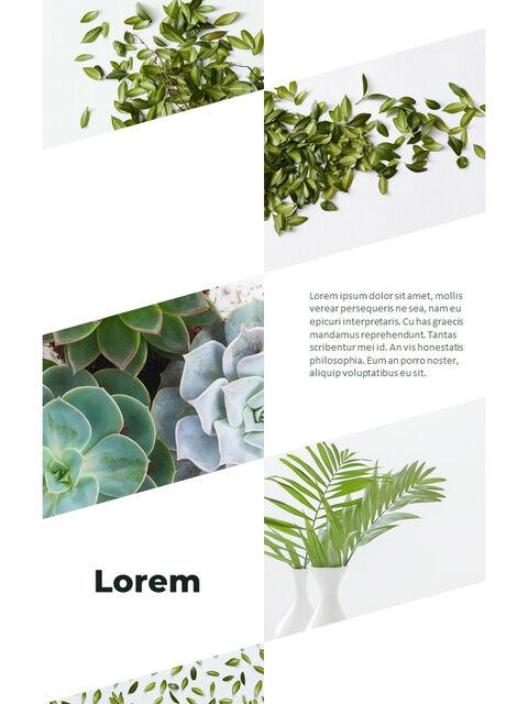 녹지 세로형 슬라이드 디자인 비즈니스 전략 파워포인트_22