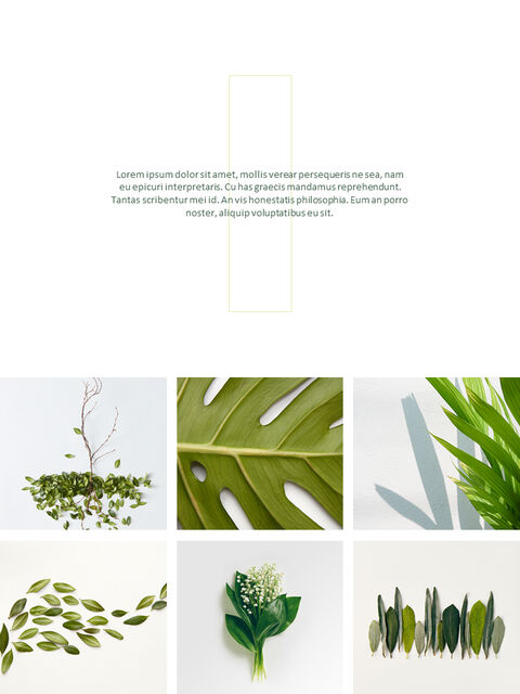 Greenery Vertical Slide Design Business Strategy PPT_05