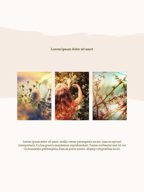 우리의 봄 컨셉 세로형 프레젠테이션용 PowerPoint 템플릿_06