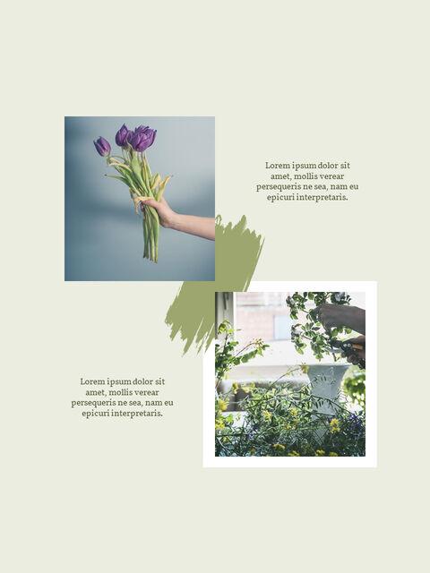 우리의 봄 컨셉 세로형 프레젠테이션용 PowerPoint 템플릿_04