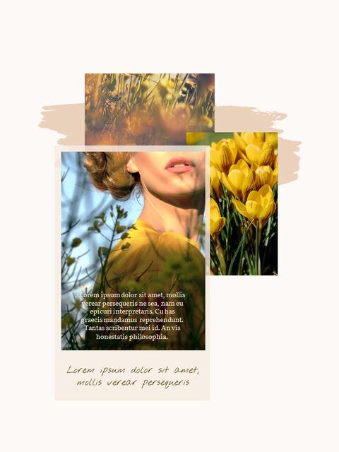 우리의 봄 컨셉 세로형 프레젠테이션용 PowerPoint 템플릿_14