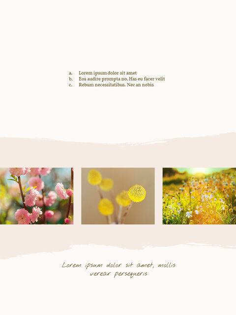 우리의 봄 컨셉 세로형 프레젠테이션용 PowerPoint 템플릿_17
