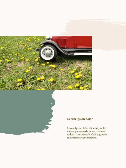 우리의 봄 컨셉 세로형 프레젠테이션용 PowerPoint 템플릿_20